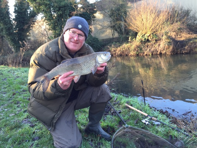 The new rod handled a bread flake caught Chub impressively